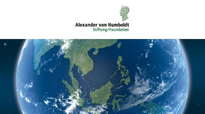 Alexander von Humboldt Structure International Environment Defense Fellowship 2019 for Young Environment Professionals