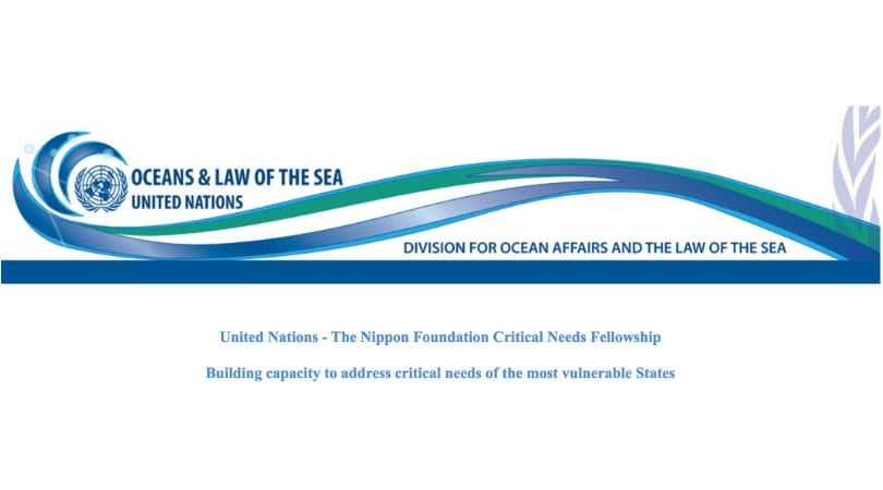United Nations– The Nippon Structure Sustainable Ocean Program Important Requirements Fellowship (Moneyed)
