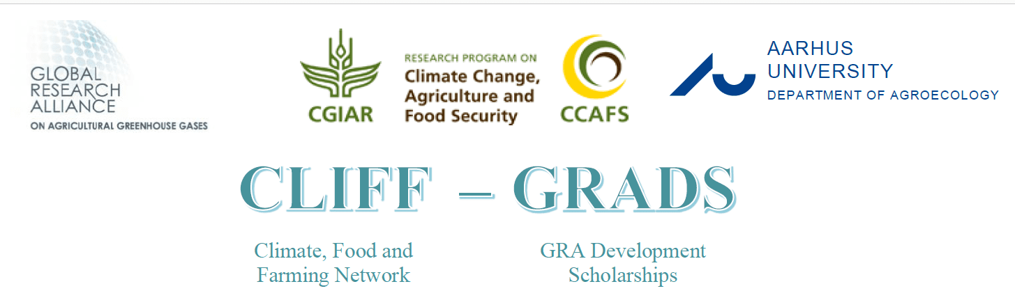 CLIFF-GRADS scholarships 2019 for PhD trainees from establishing nations in Farming & & Environment modification mitigation (12,000 USD in financing)