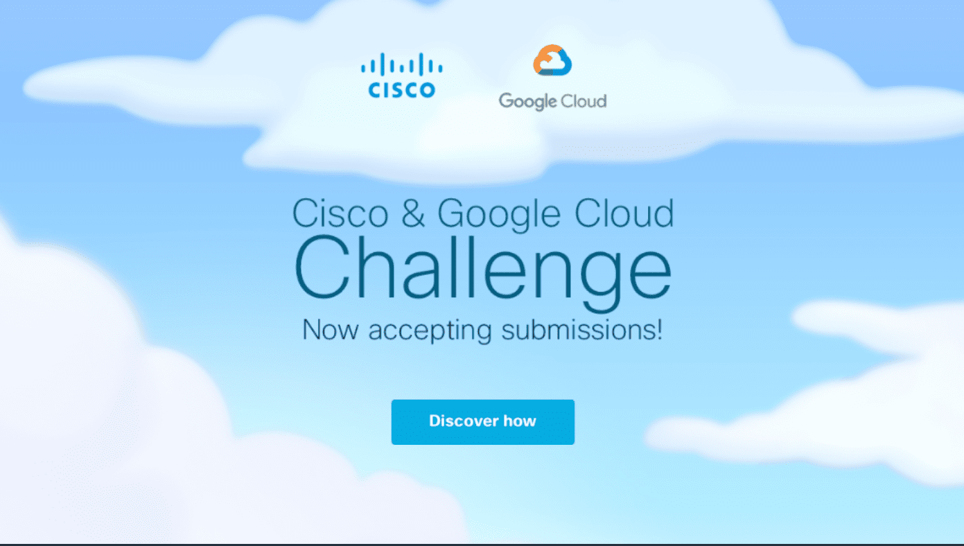 Cisco and Google Cloud Obstacle 2018 for hybrid cloud applications