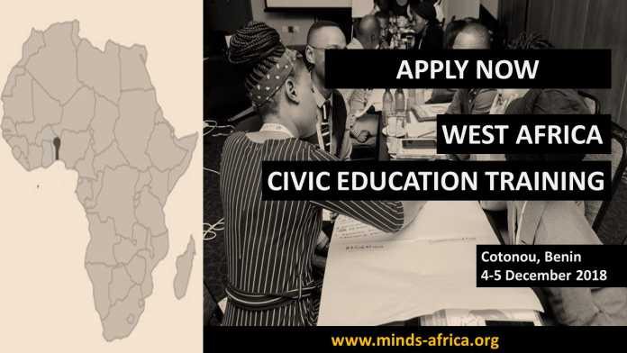 MINDS West Africa Regional Civic Education Workshop in Elections and Governance 2018 (Fully-funded)