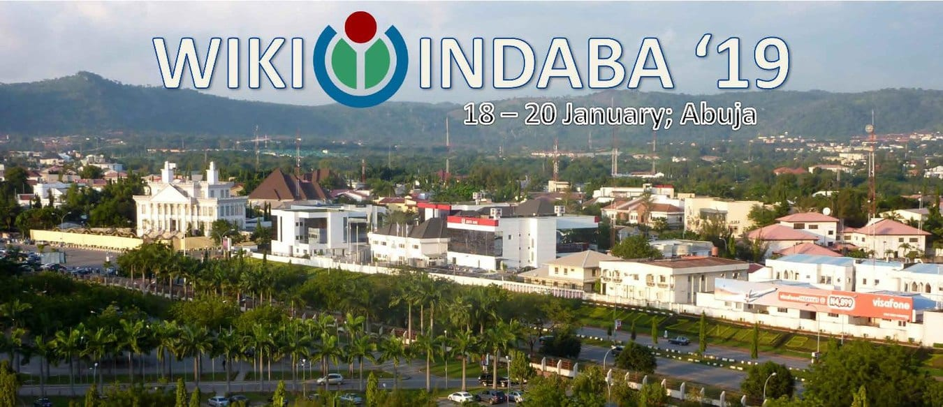 WikiIndaba conference 2019/ Scholarships for African Wikimedians (Moneyed to Abuja, Nigeria)