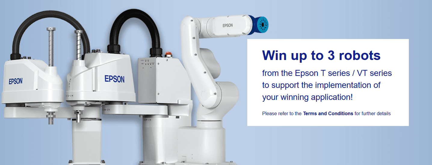 EPSON Robotic Competitors 2018 for Organizations Throughout the EMEA Area