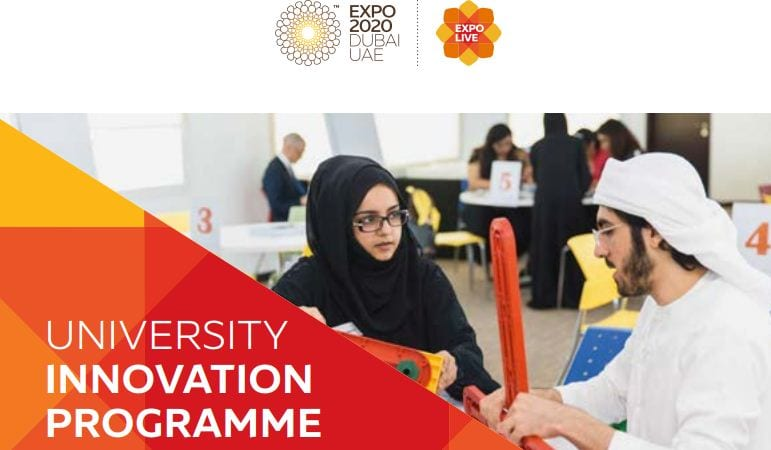 Exposition Live University Development Program 2018 (As Much As AED 25,000)