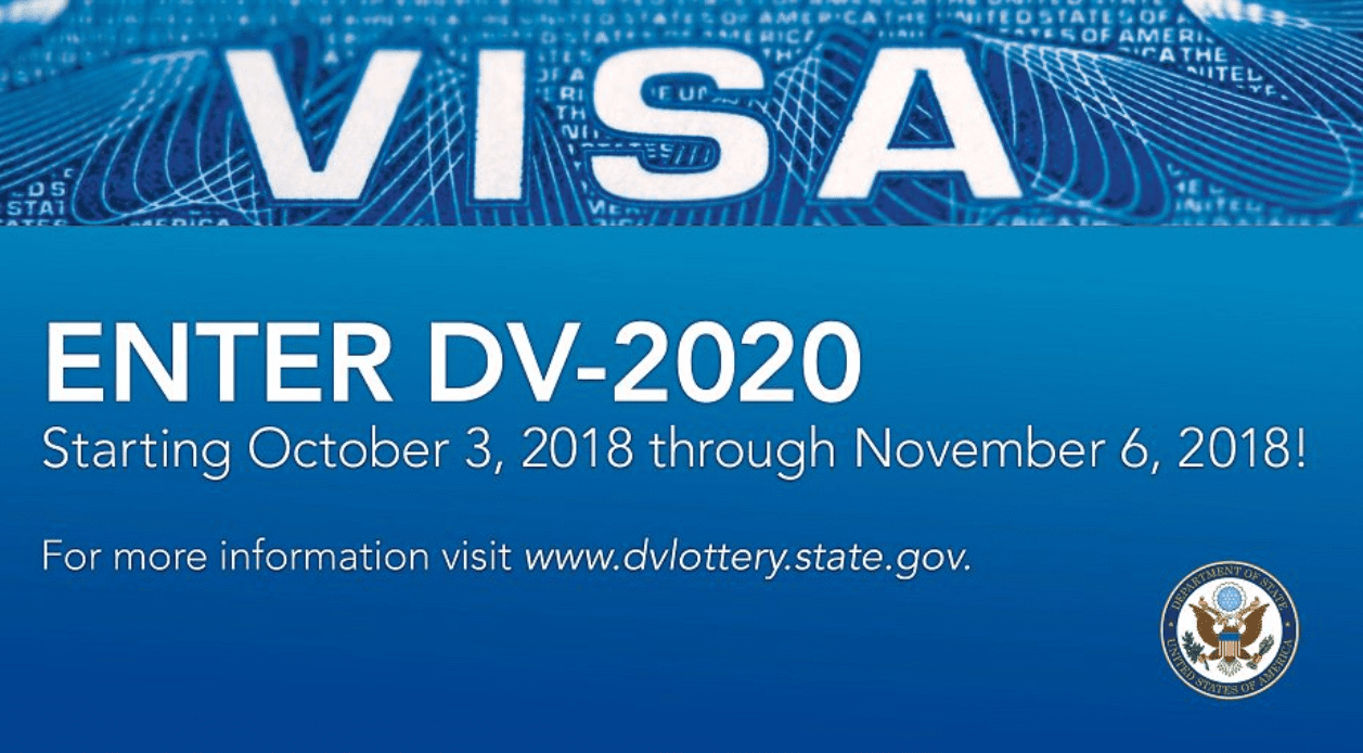 U.S.A. Variety Immigrant Visa Program (DV-2020) Lotto: Live and Operate In the United States of America.