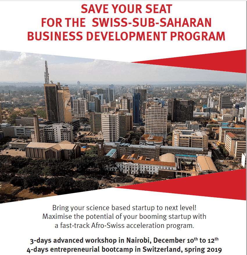 Swiss– sub-Saharan Africa Service Advancement Program 2018 for young college students & & Business owners (Completely Moneyed to Switzerland)