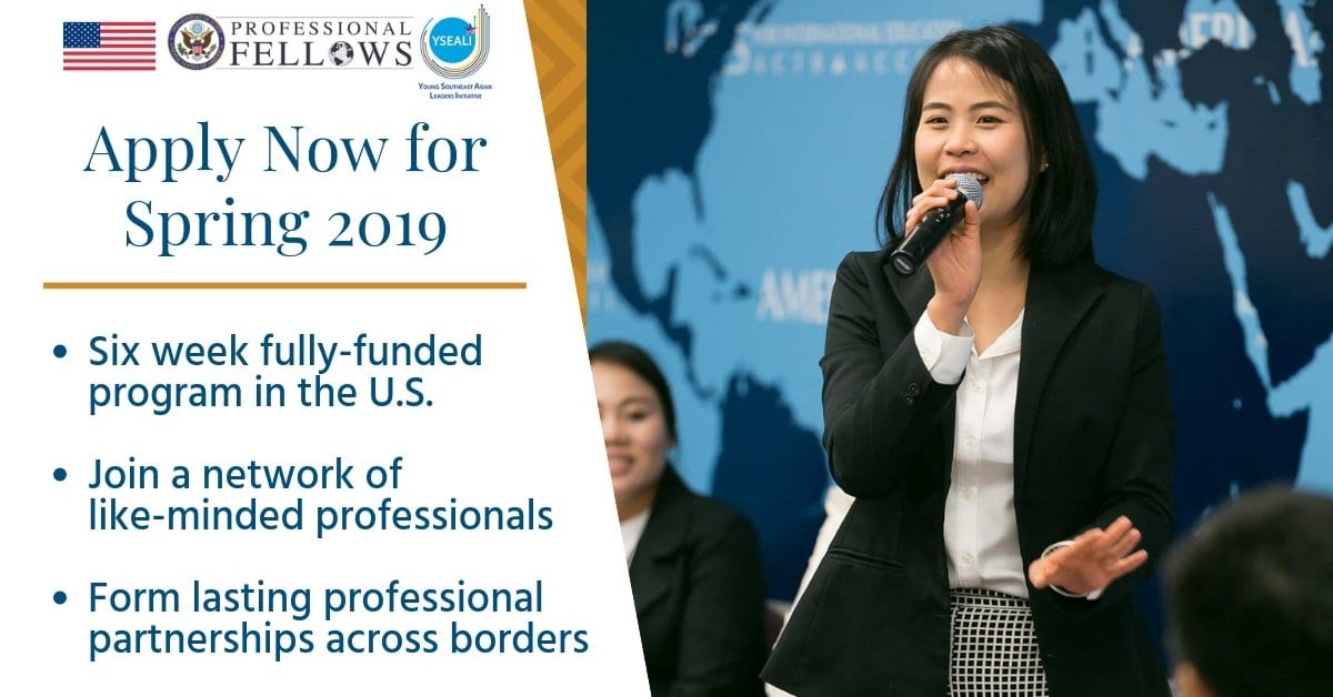 United States Department of State's Expert Fellows Program– Spring 2019 (Fully-funded)