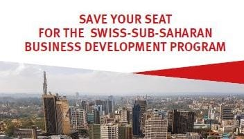 SWISS Africa Company Advancement Program 2019 (Fully-funded to Nairobi & & Switzerland)