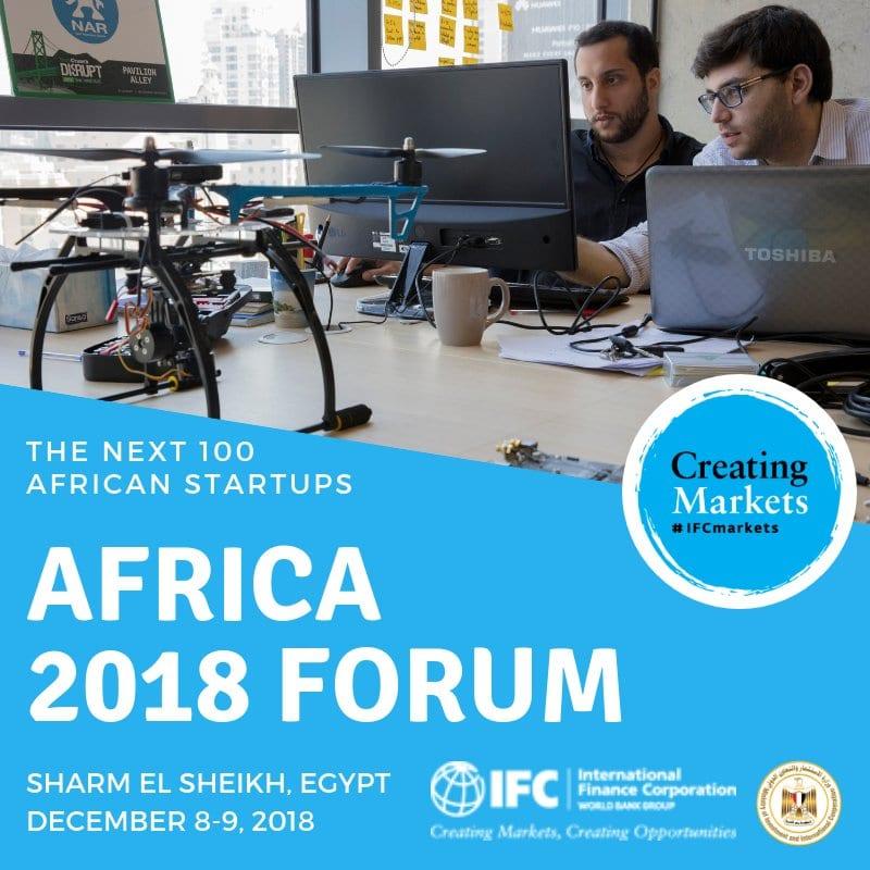 The International Financing Corporation (IFC) Next 100 African Startups Effort for appealing African start-ups (Moneyed to Sharm El-Sheikh, Egypt)