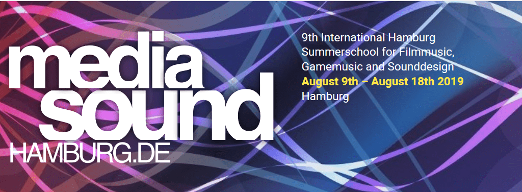 9th Media Noise Hamburg Scholarships 2019 for Filmmusic, Gamemusic and Sounddesign (Moneyed to Hamburg, Germany)