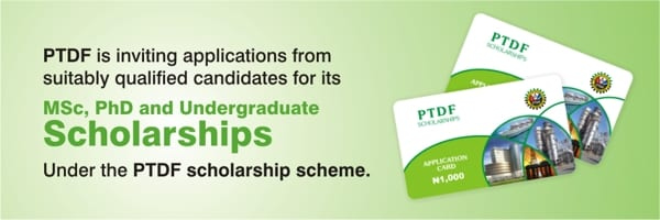 The Petroleum Innovation Advancement Fund (PTDF) Undergrad & & Postgraduate Scholarships 2018/2019 for research study in Nigerian Federal Universities