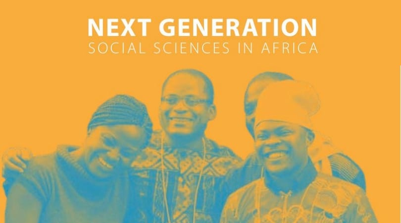 SSRC Next Generation Social Sciences in Africa Doctoral Fellowships 2019