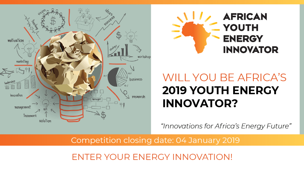 Africa Energy Indaba African Youth Energy Innovator Display 2019 (Totally Moneyed to Johannesburg, South Africa)