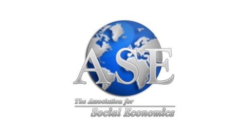Association for Social Economics (ASE) William R. Waters Research Study Grant 2018 (Approximately $5,000)