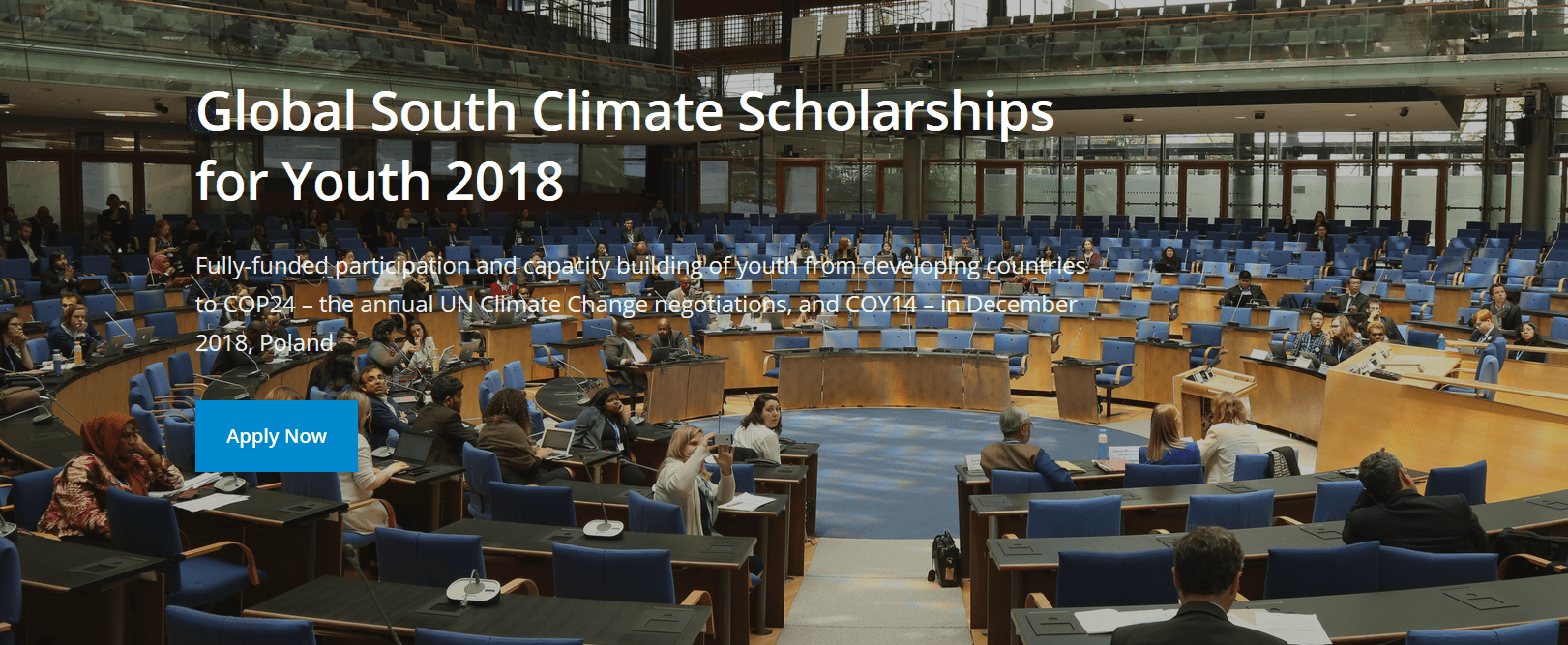 The Global South Environment Scholarships for Youth (Completely Moneyed to the UNFCCC's 24 rd Conference of Celebrations (POLICE 24) & & the 14 th Conference of Youth (COY 14) in Katowice, Poland)