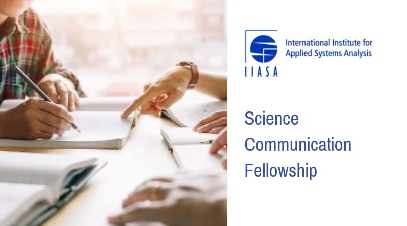 IIASA Science Interaction Fellowship 2019 (Fully-funded to Vienna)