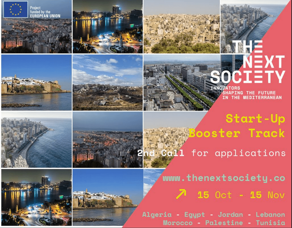 THE NEXT SOCIETY Start-up Booster Track Program 2018 for Business Owners in the MENA area.