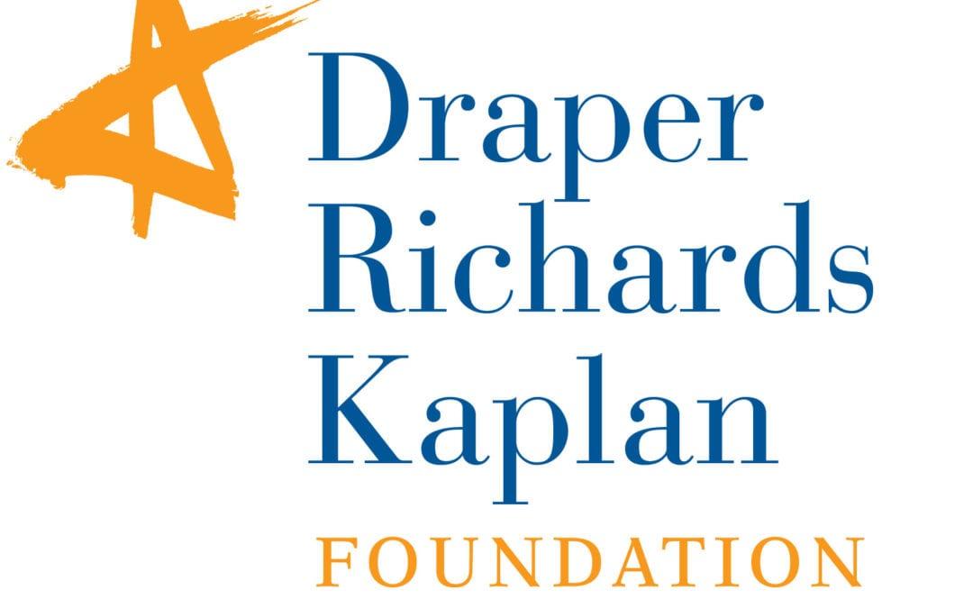 Draper Richards Kaplan Structure Grant Program 2018/2019