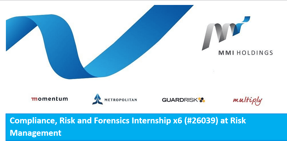 MMI Holdings Limited (MMI) Compliance, Danger and Forensics Internships 2018 for young South Africans