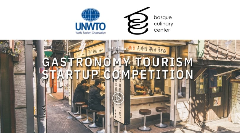 World Tourist Company (UNWTO) 1st Worldwide Gastronomy Tourist Start-up Competitors 2019 (Fully-funded to Spain)