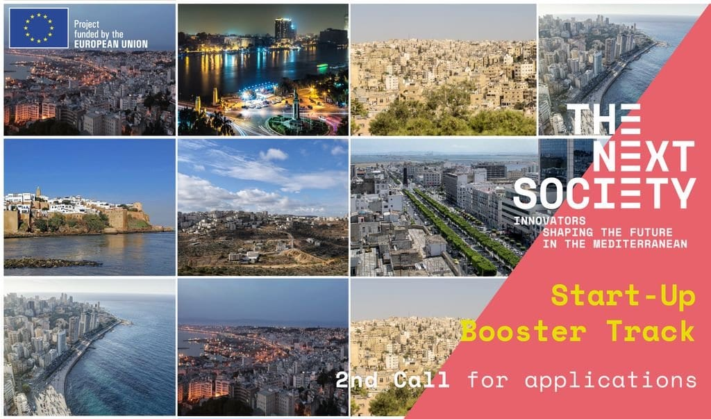 THE NEXT SOCIETY Start-up Booster Track 2018 for Business Owners in the MENA area