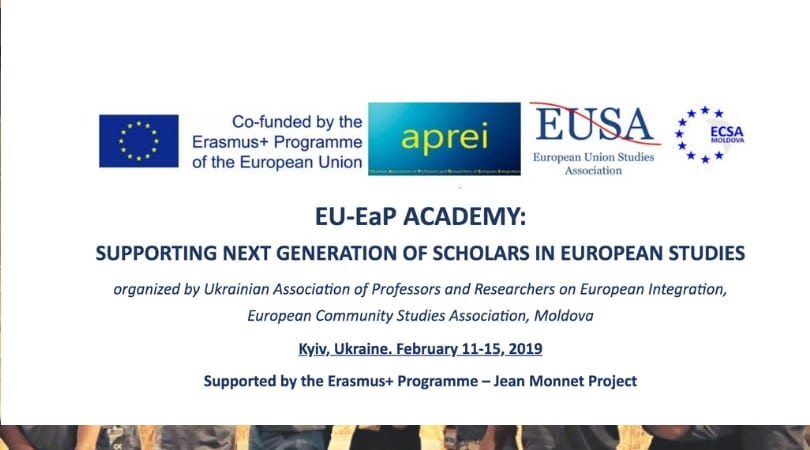 EU-EaP Academy for Next Generation of Scholars in European Research Studies 2019– Kyiv, Ukraine (Scholarships Available)