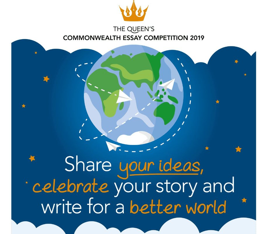 2019 Queen's Commonwealth Essay Competitors for Young Writers from Commonwealth Nations