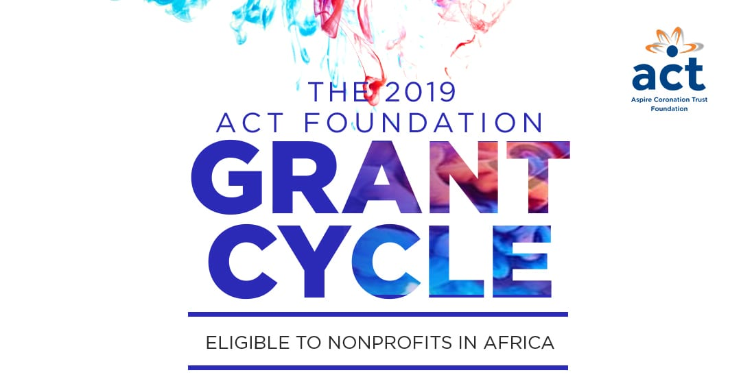ACT Structure Grant Program 2019 for Nonprofits in Africa