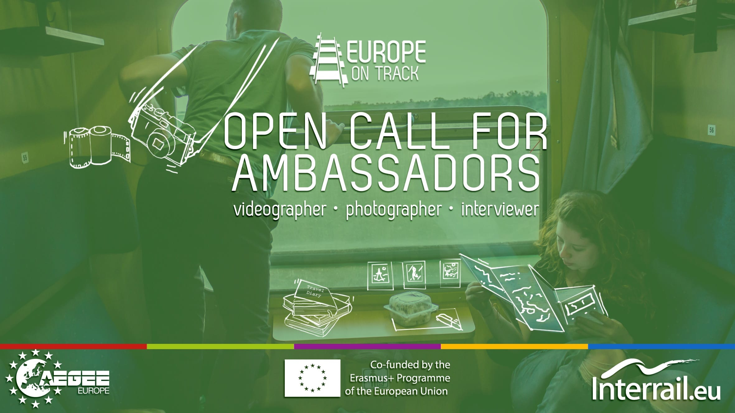 Travel around Europe as an Ambassador for Europe on Track Job 2019