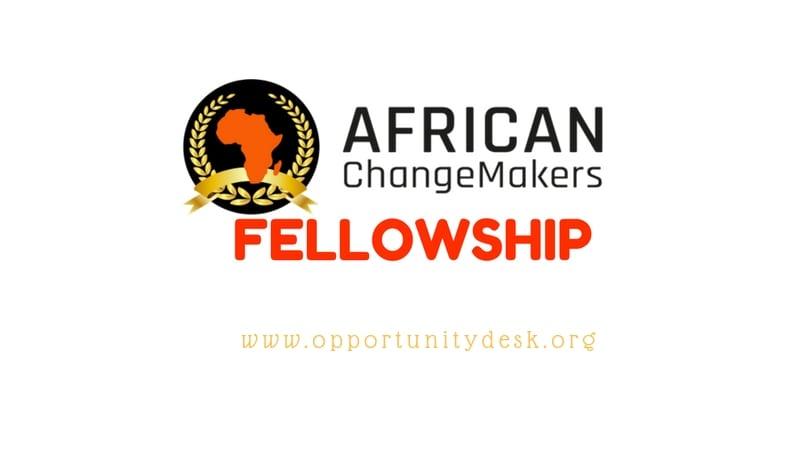 African Changemakers Fellowship Program 2019