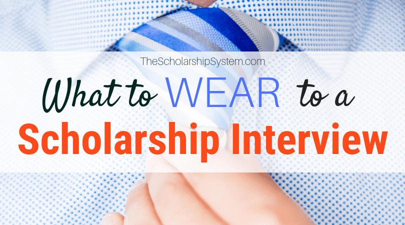What to Use to a Scholarship Interview