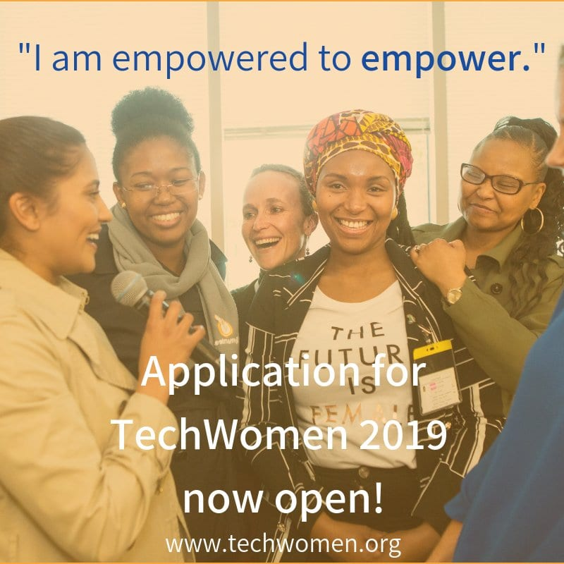 TechWomen Emerging Leaders Program 2019 for Females in STEM to study in the United States of America (Totally Moneyed)