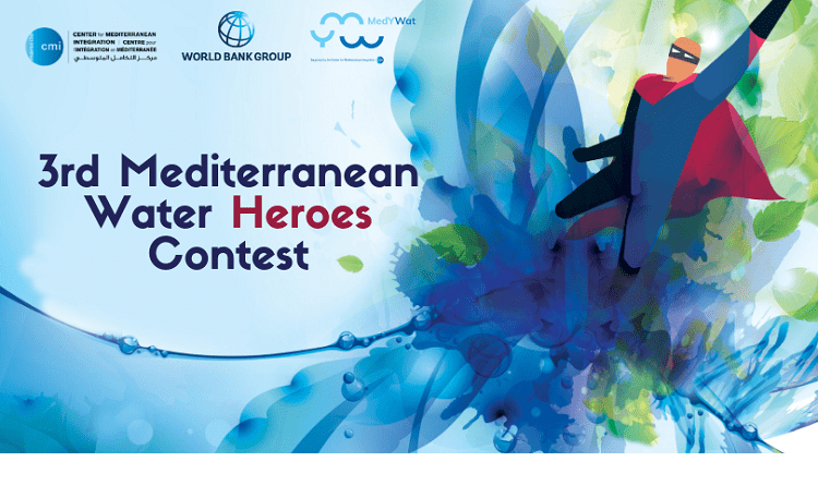 CMI Mediterranean Water Heroes Contest around World Water Day 2019 (Fully-funded to France & & Morocco)