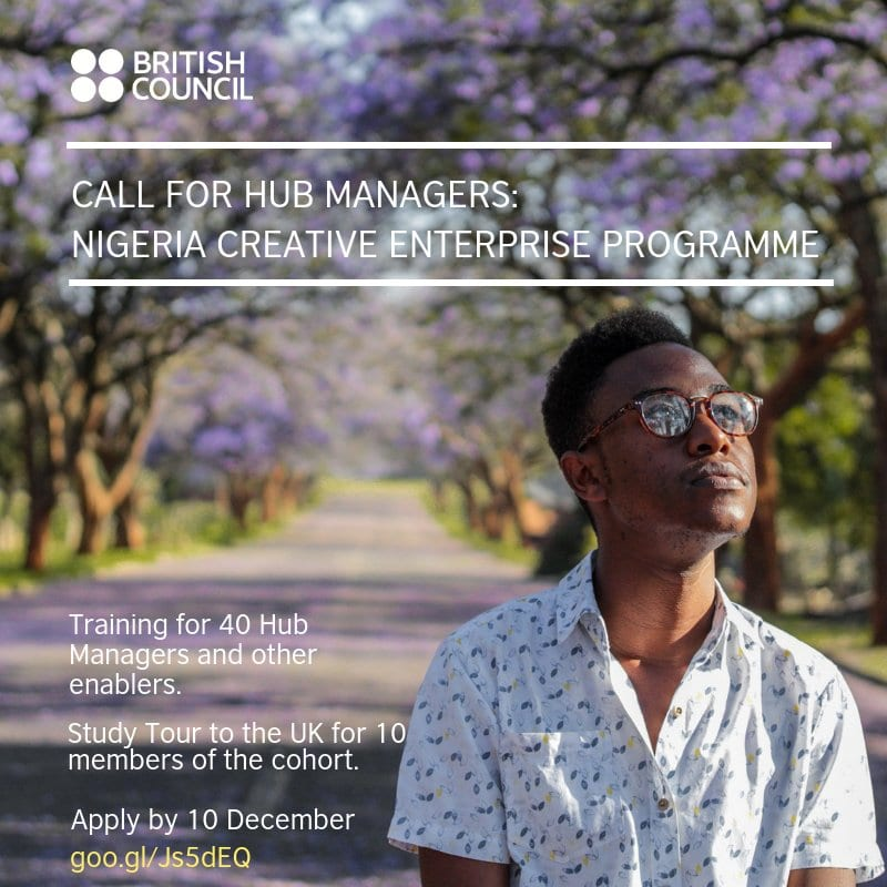 British Council Nigeria Creative Business Program: Require Center Supervisors (Research study see to the UK)