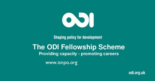 ODI Fellowship Scheme 2019 (Absolutely Funded)