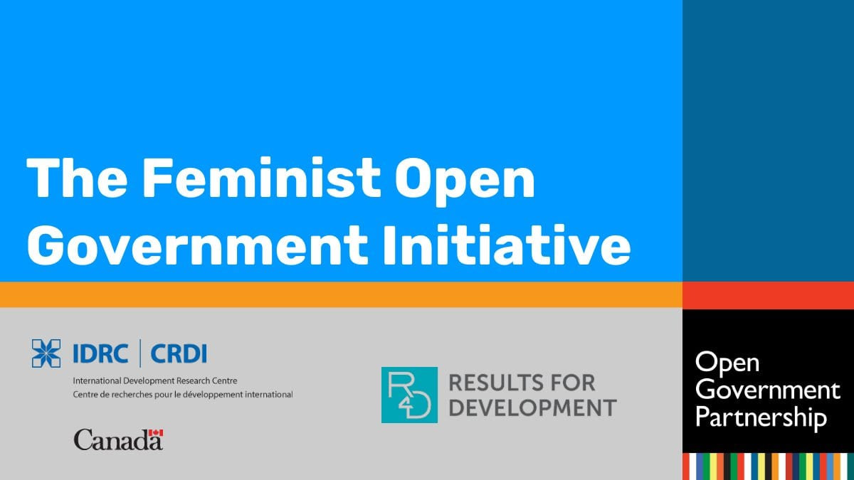 Require Propositions: Feminist Open Federal Government Effort 2019/2020(As Much As CA$50,000)