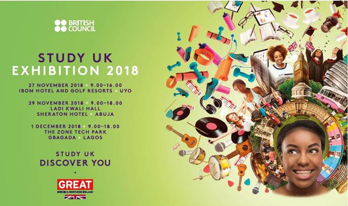 Go To the Commonwealth Scholarships Sessions at the Research Study UK Exhibit in Nigeria!