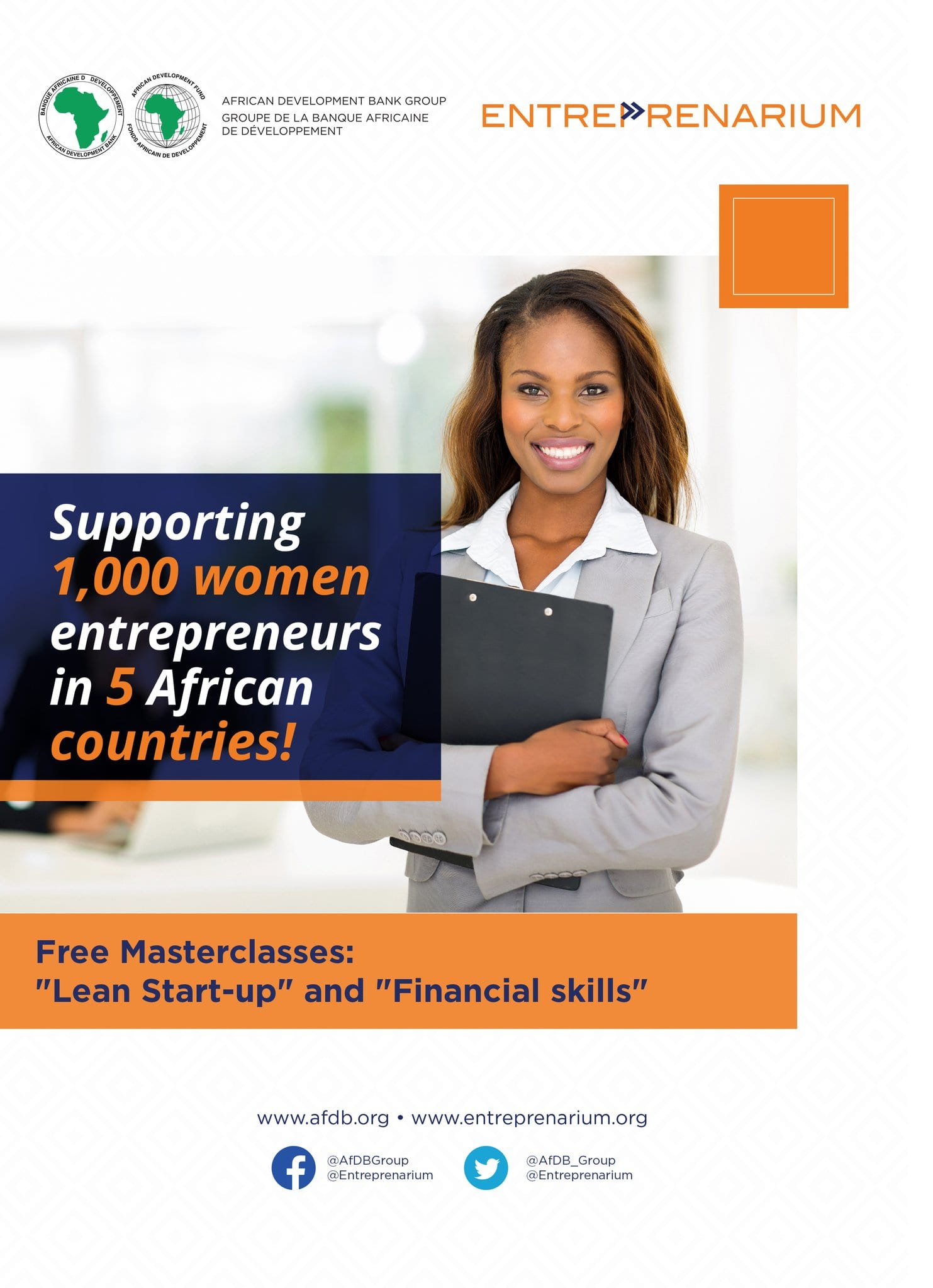 African Advancement Bank/Entreprenarium Structure 2018/2019 Masterclass for ladies business owners in Africa.