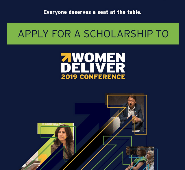 The Women Provide 2019 Conference Media Scholarships (Completely Moneyed to Vancouver, Canada)