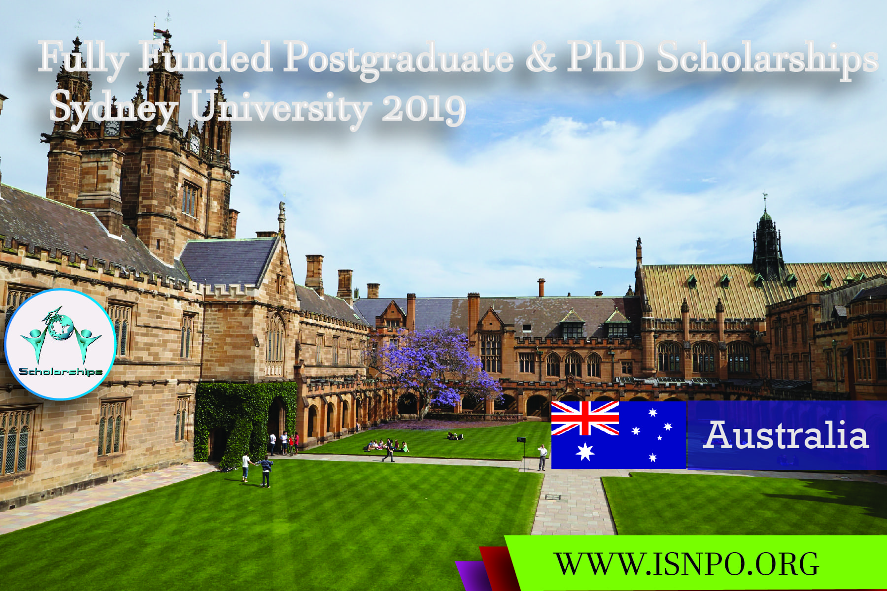 Totally Moneyed Postgraduate & & PhD Scholarships Sydney University 2019