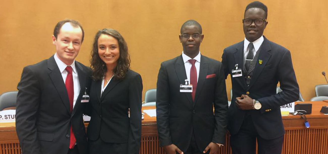 Nelson Mandela World Person Rights Moot Court Competitors 2019