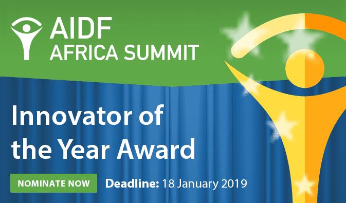 Help & & Advancement Africa Top 2019– Innovator of the Year Award– Nairobi, Kenya.