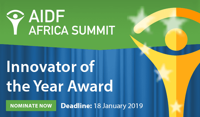 Require Elections: AIDF Africa Innovator Of The Year Award 2019