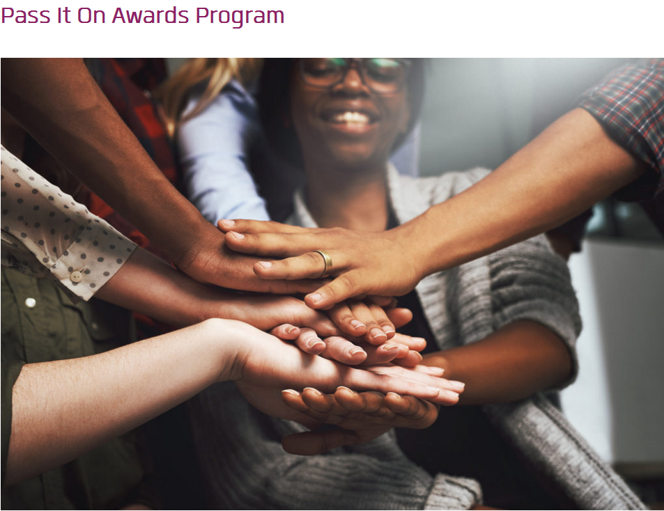 Anita Borg Systers Pass It On Awards Program 2019 for females Technologists ($ 1,000 USD reward)