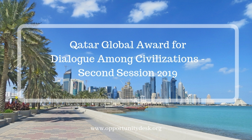 Qatar Global Award for Discussion Amongst Civilizations– 2nd Session 2019