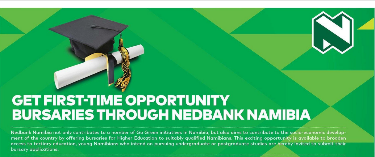 Nedbank Namibia Bursary Program 2019 for young Namibians