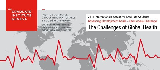 Geneva Obstacle 2019– Advancing Advancement Goals International Contest for College Student (25,000 CHF in financial rewards & & Moneyed to Geneva, Switzerland)