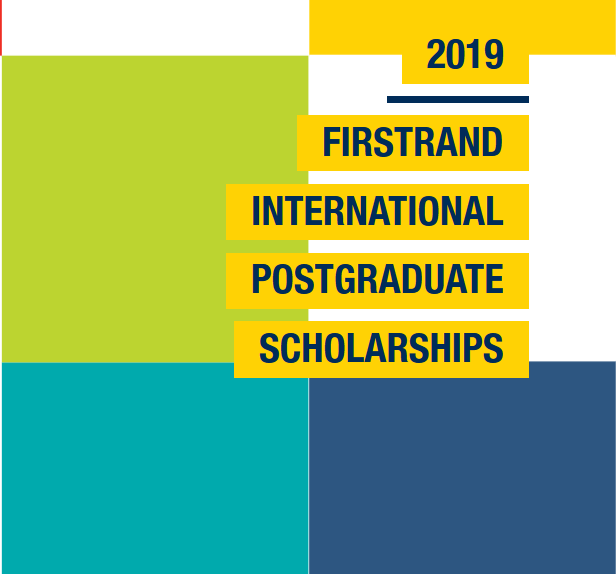The FirstRand Laurie Dippenaar International postgraduate research study Scholarships 2019 for young South Africans