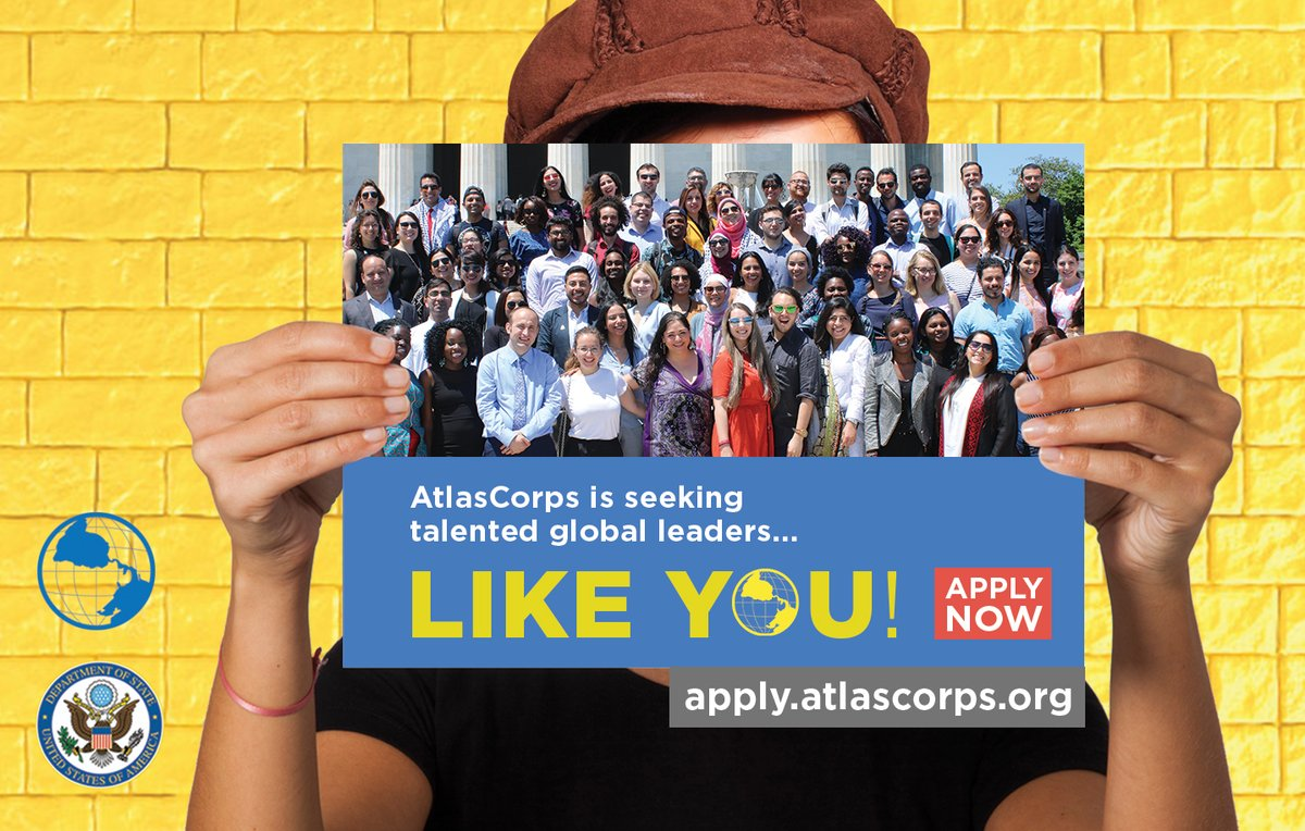 Atlas Corps Fellowship 2019 for Social Modification Leaders (Totally moneyed to the United States)