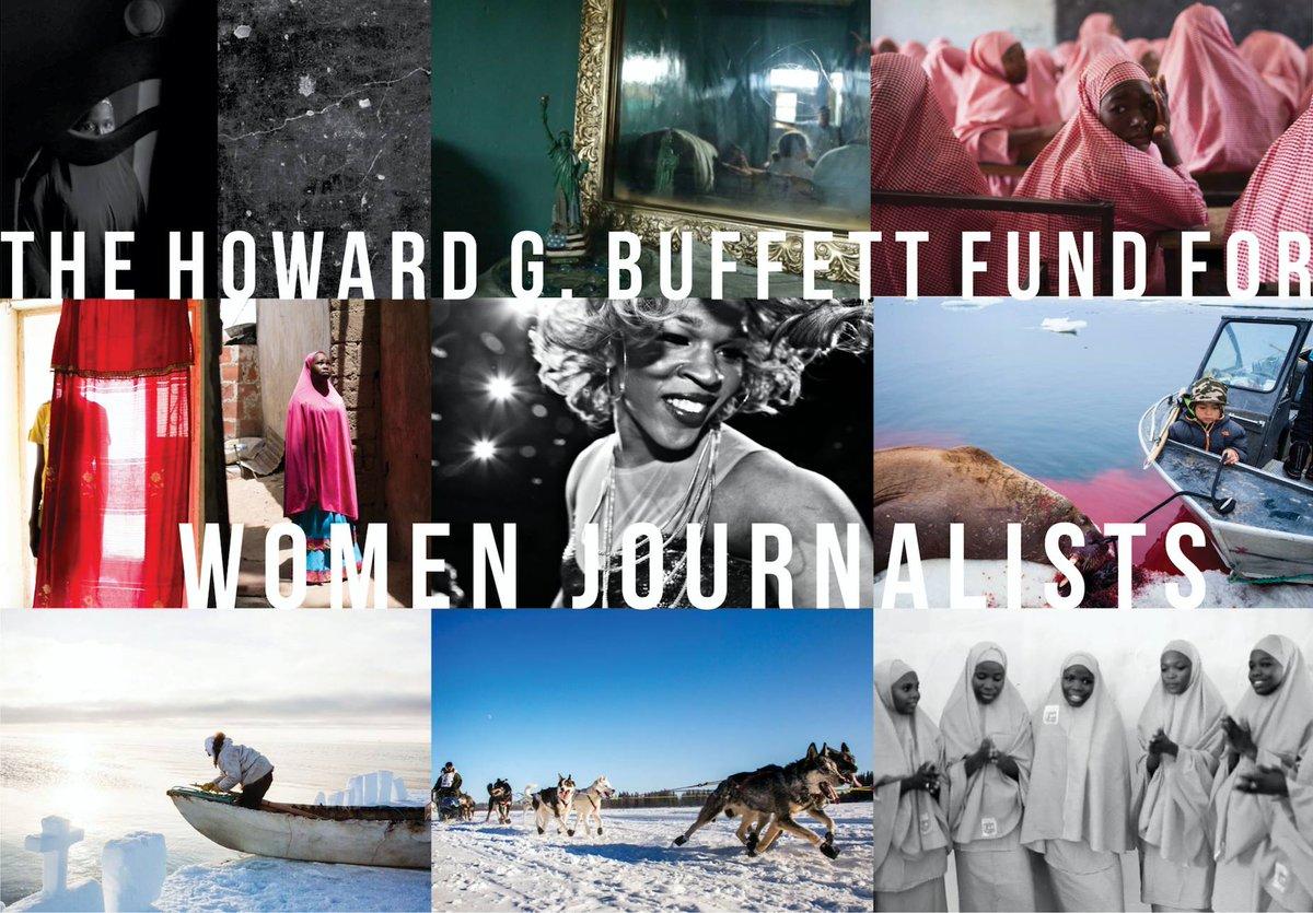 International Women's Media Structure (IWMF) Howard G. Buffett Fund for Women Reporters 2019 Round 1
